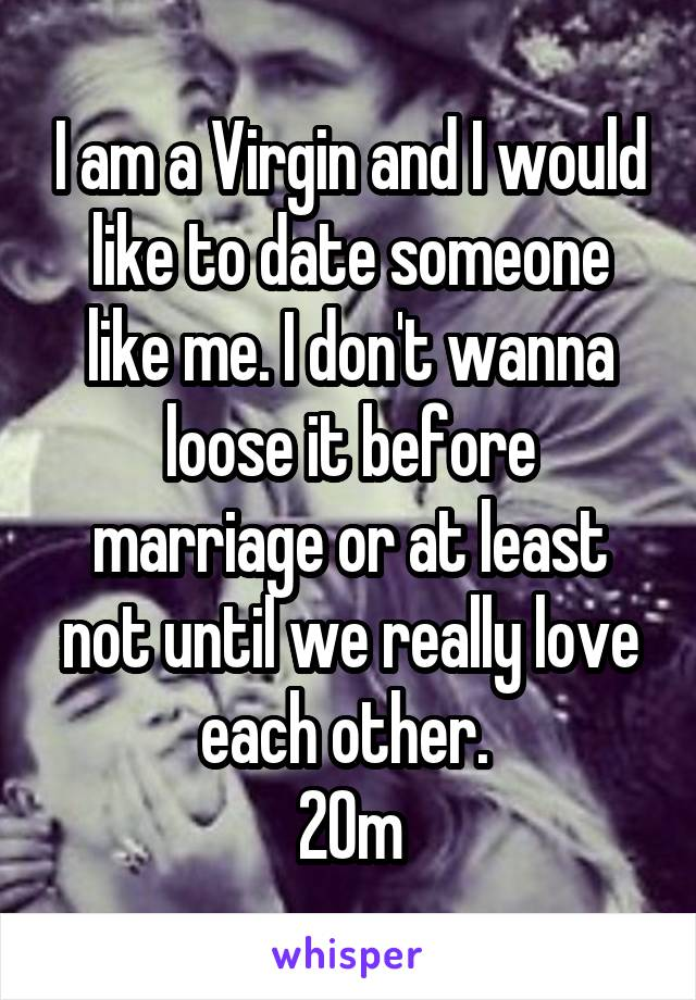 dating someone who isnt a virgin