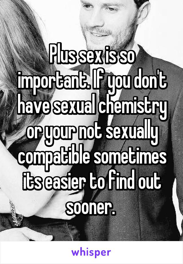 How Important Is Sexual Chemistry