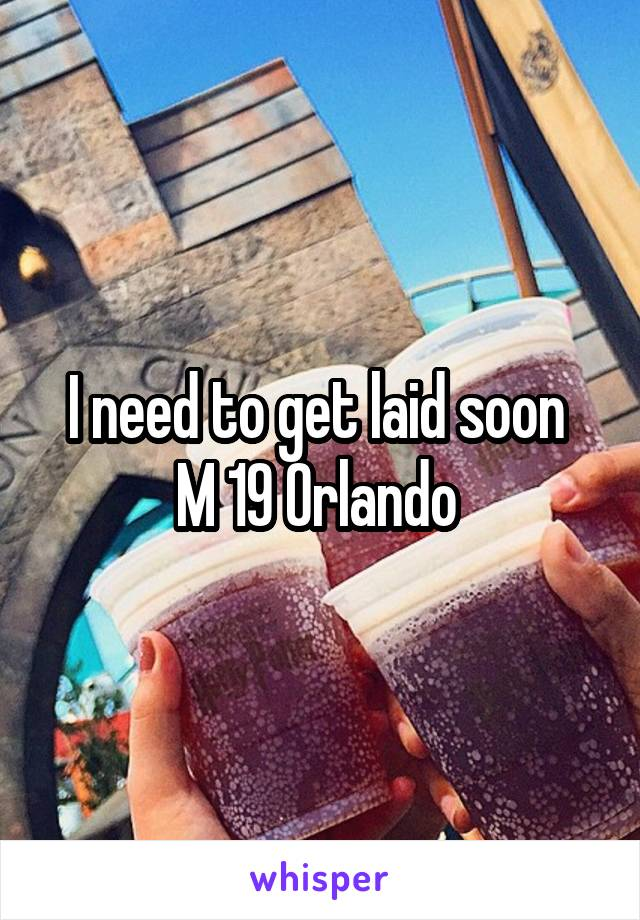 Get Laid In Orlando
