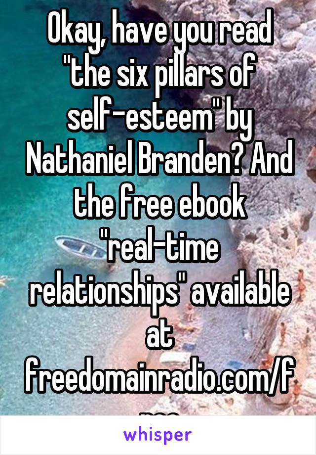 The Six Pillars Of Self-esteem Epub