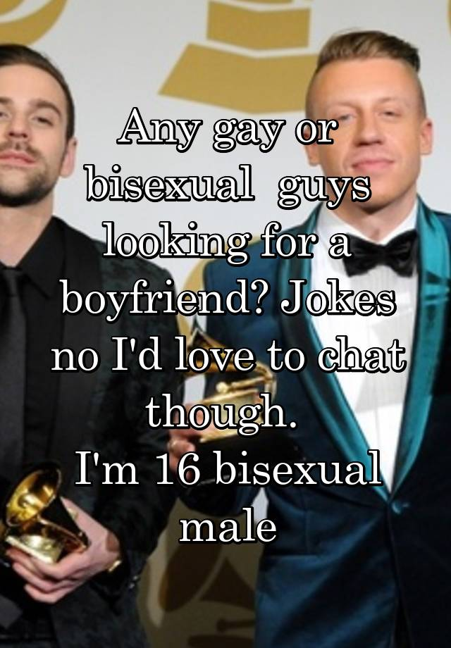 bisexual male chat