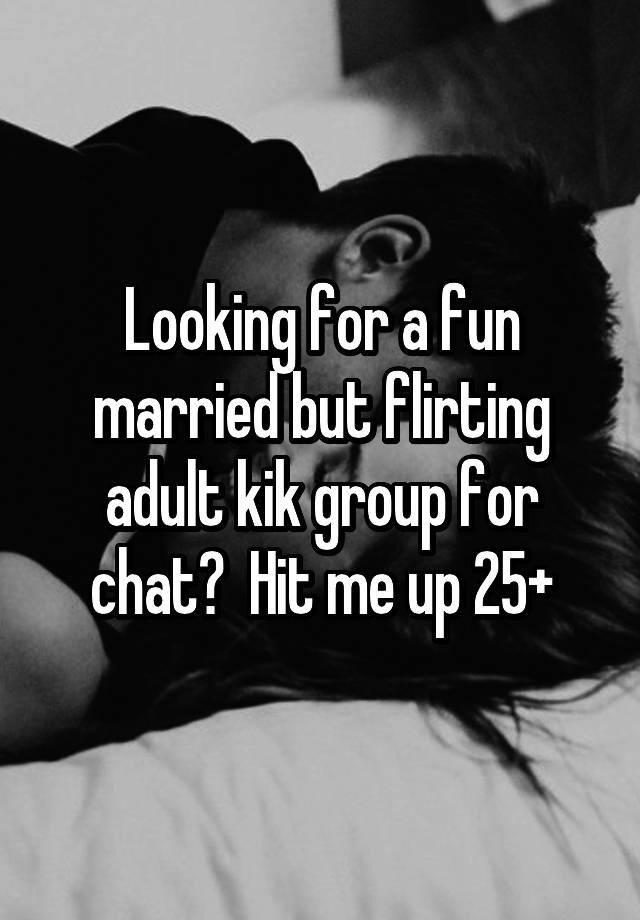 Adult dating kik group