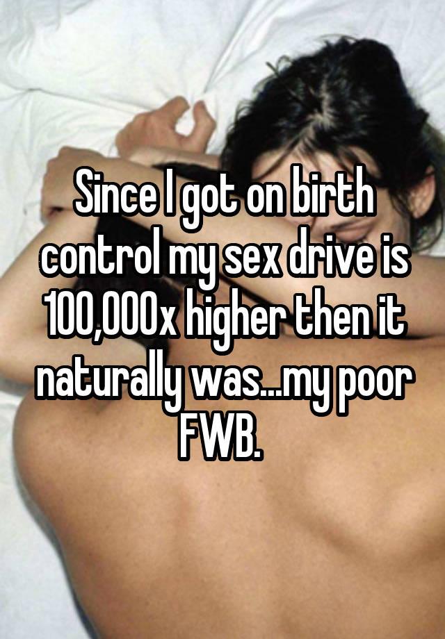 birth control and no sex drive