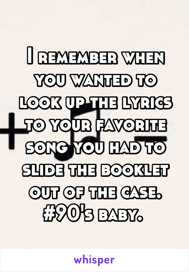 Lyric lyric song look up : remember when you wanted to look up the lyrics to your favorite ...