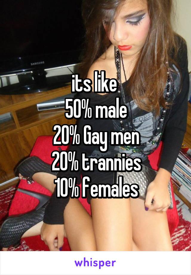 Trannies who like men