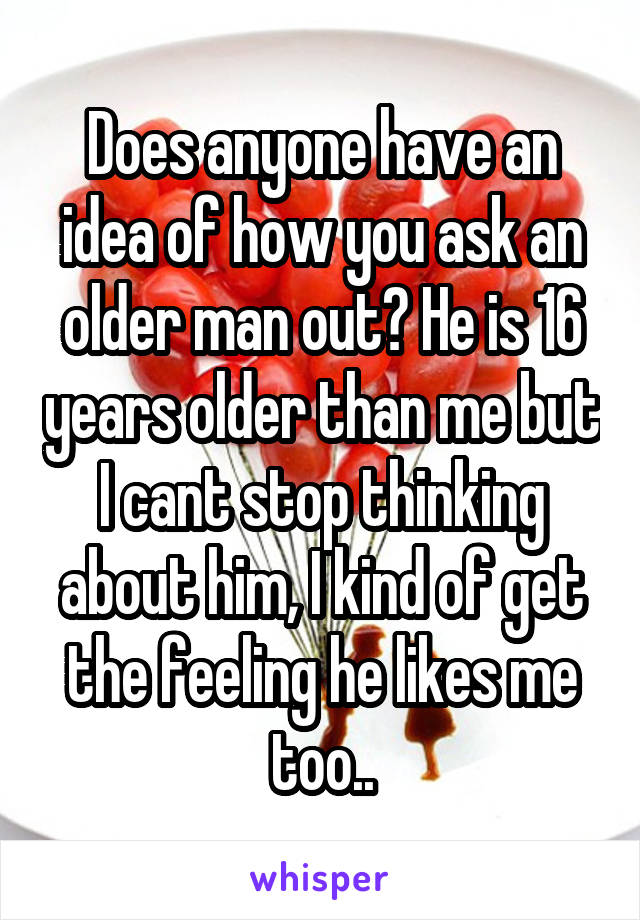 How To Ask An Older Man Out
