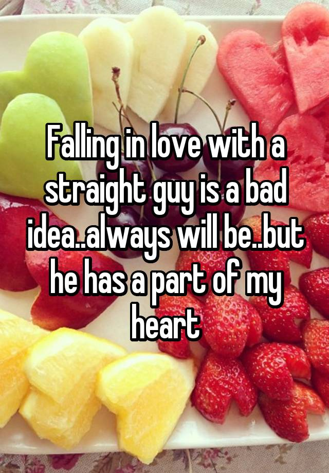 Falling In Love With A Straight Guy