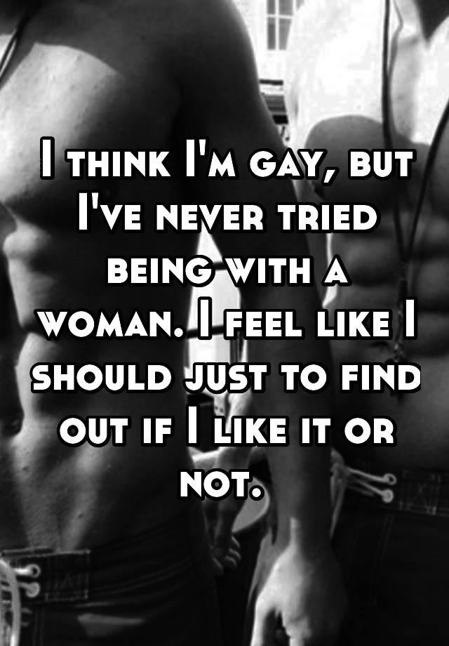 I think I