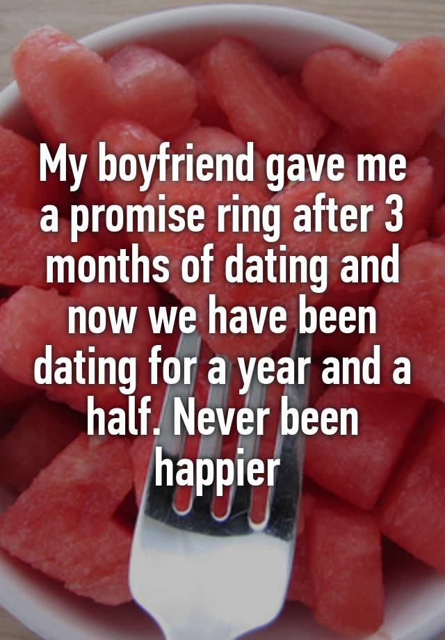 3 years of dating and no ring