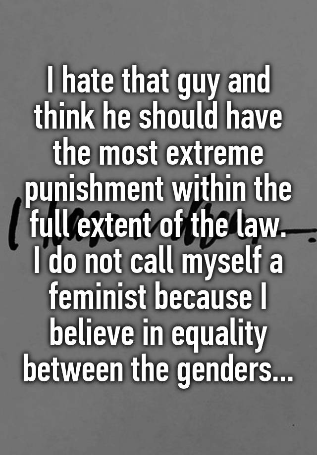 to what extent do feminists and There are perhaps as many definitions of feminism and feminist theory as there are people who declare that they are feminists ben agger some women internalize sexist beliefs and subservient behaviors to a greater extent than others and do not/cannot embrace feminism.