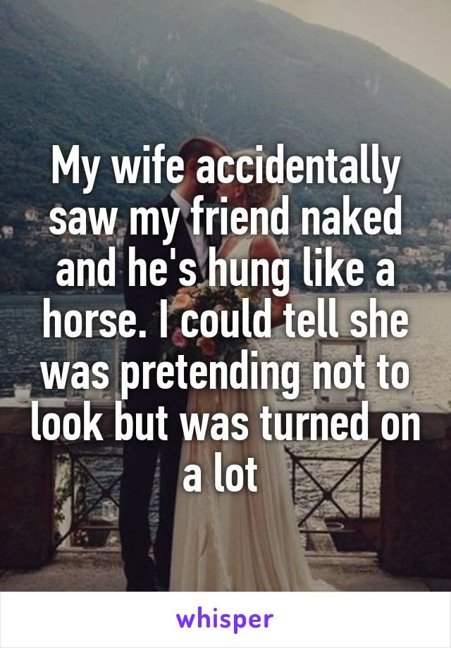 Porn Friend Saw Wife Naked 2