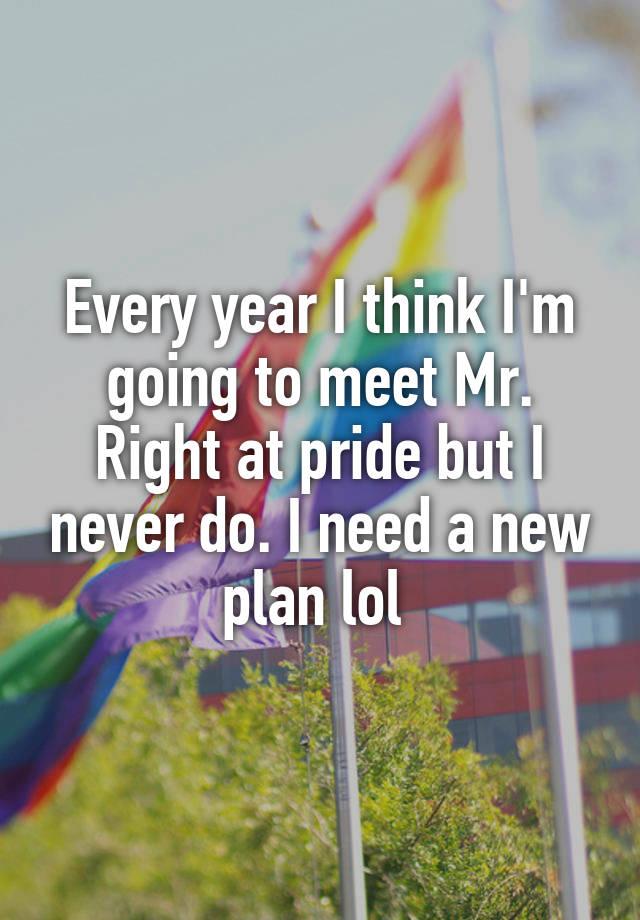 Every year I think I