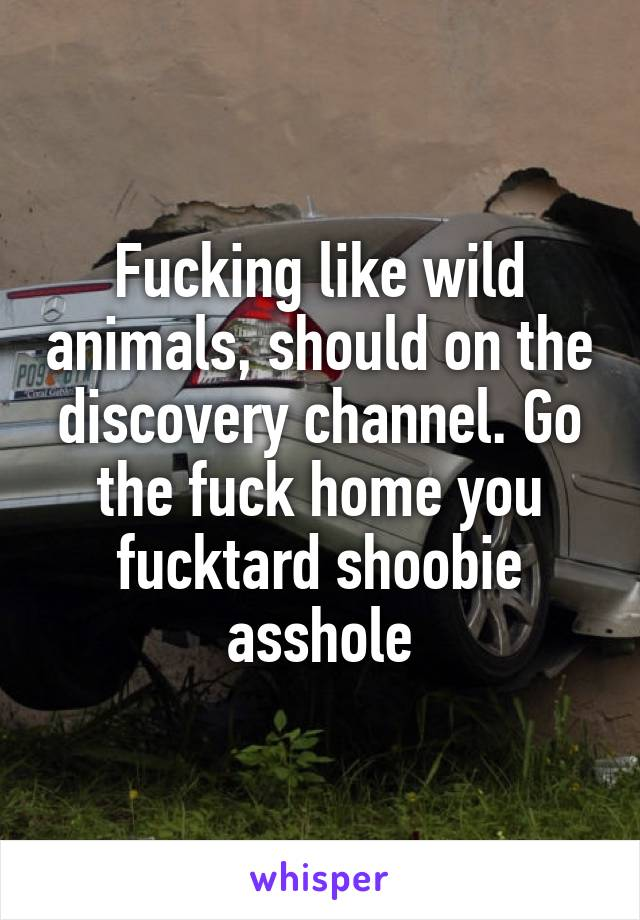 Fuck it on the discovery channel