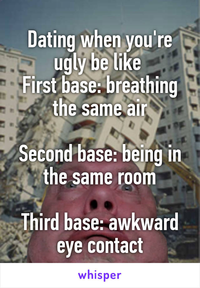 What does getting to first base mean in dating