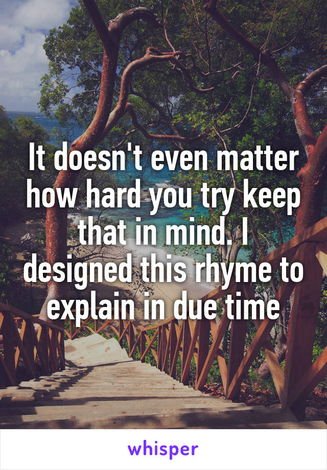 Try Keep Mind