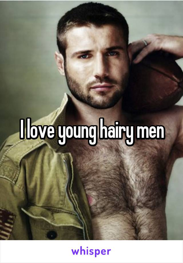 hairy young gay men
