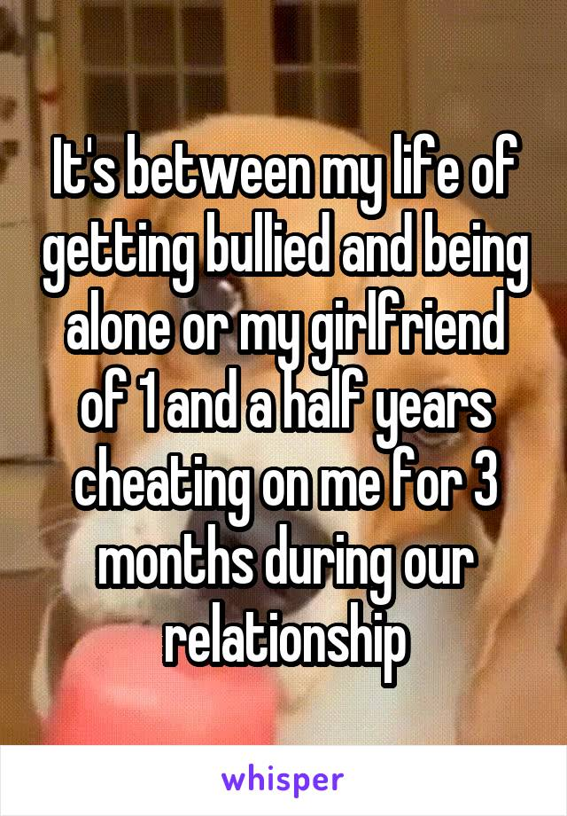 3 and a half year relationship