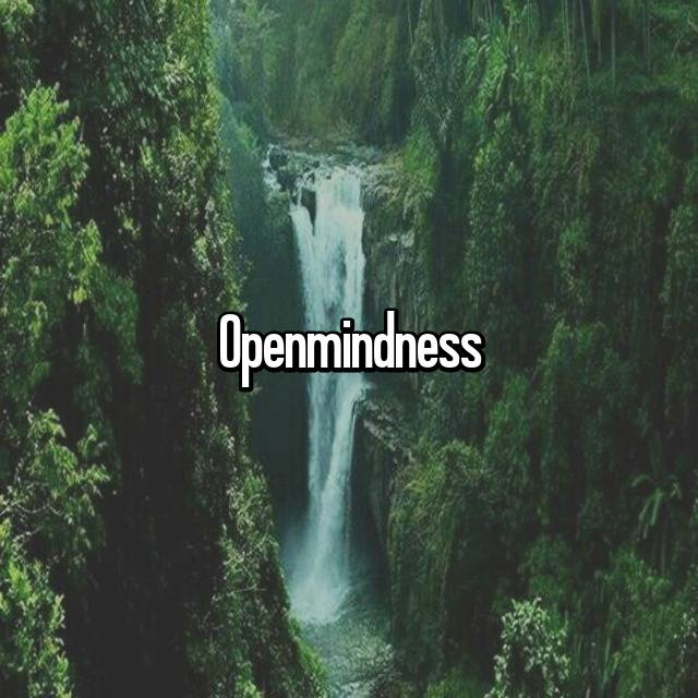 Openmindness