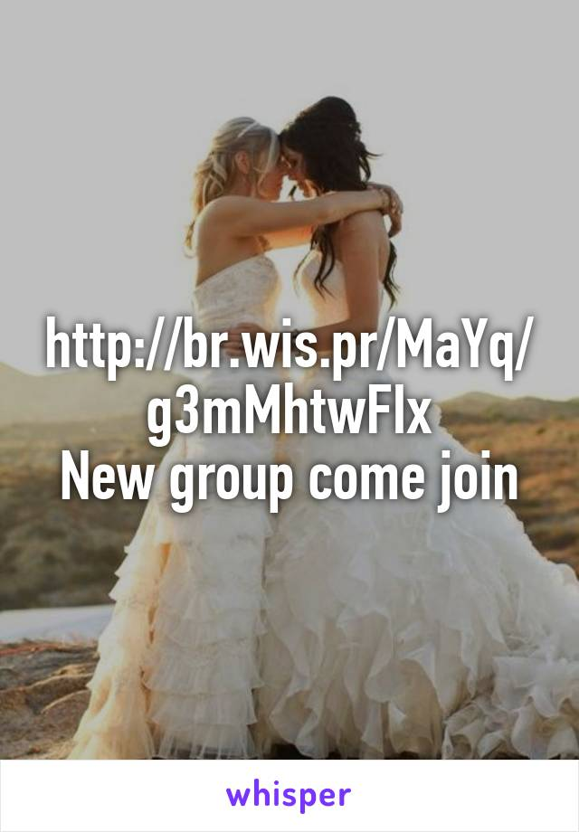 http://br.wis.pr/MaYq/g3mMhtwFIx New group come join