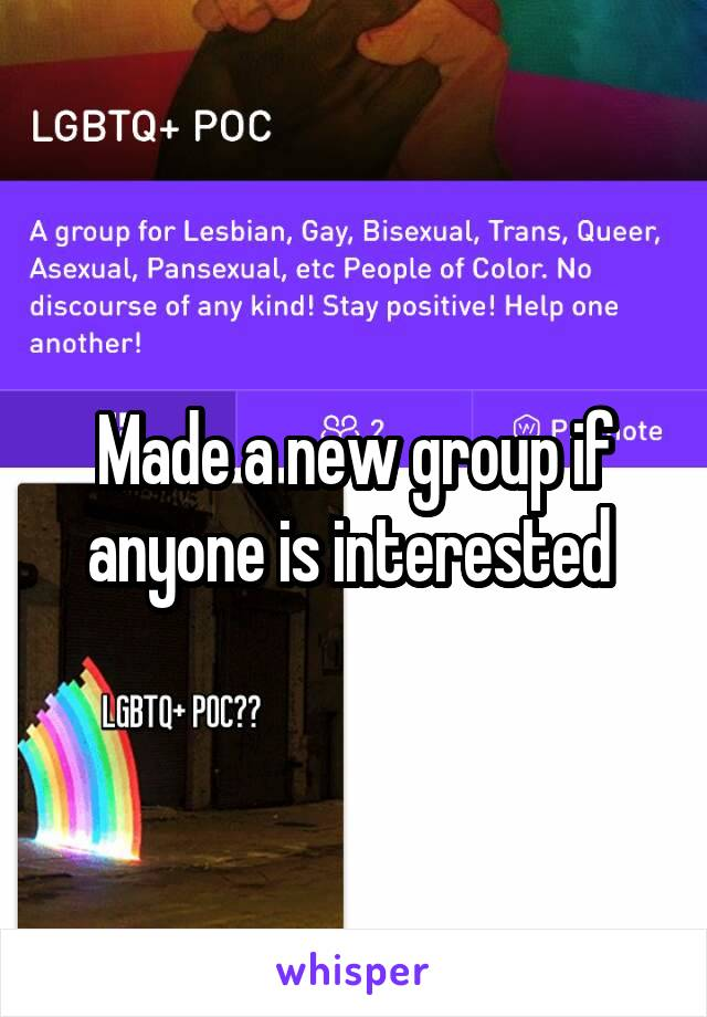 Made a new group if anyone is interested