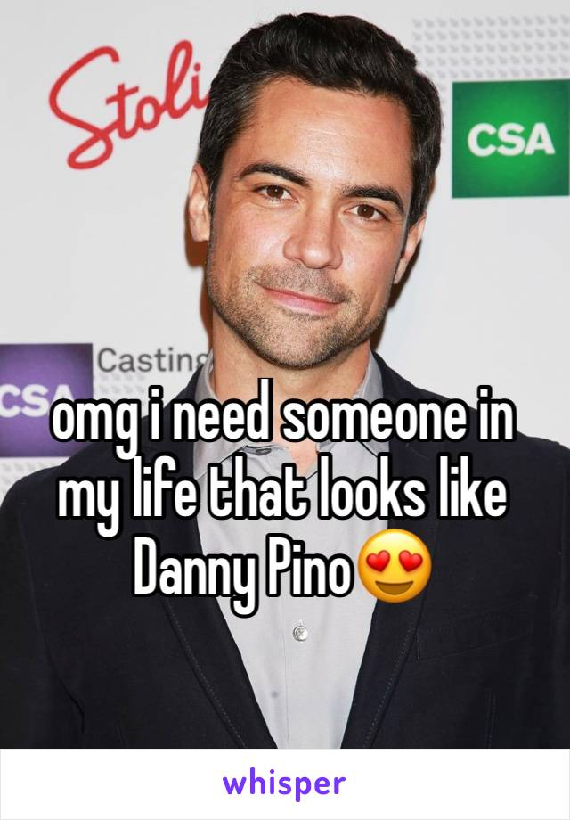 omg i need someone in my life that looks like Danny Pino😍