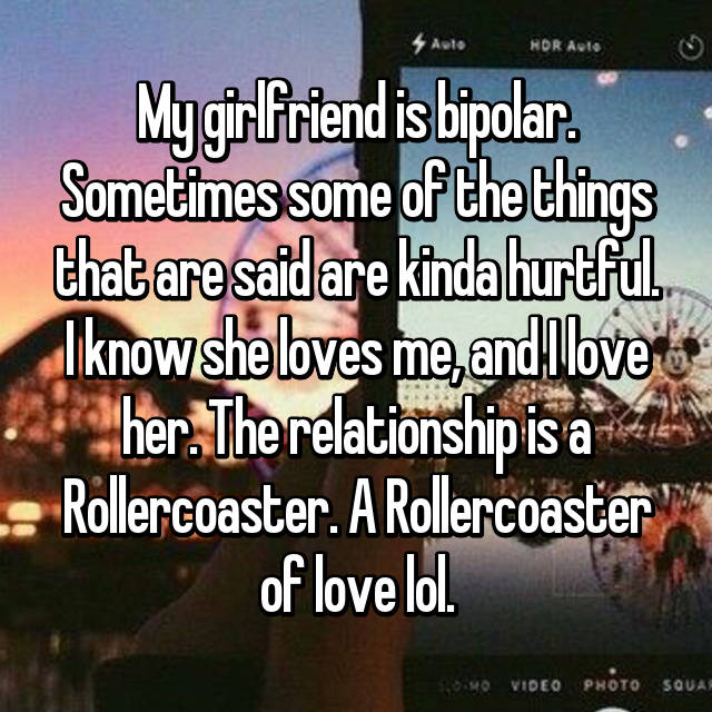 Bipolar depression dating