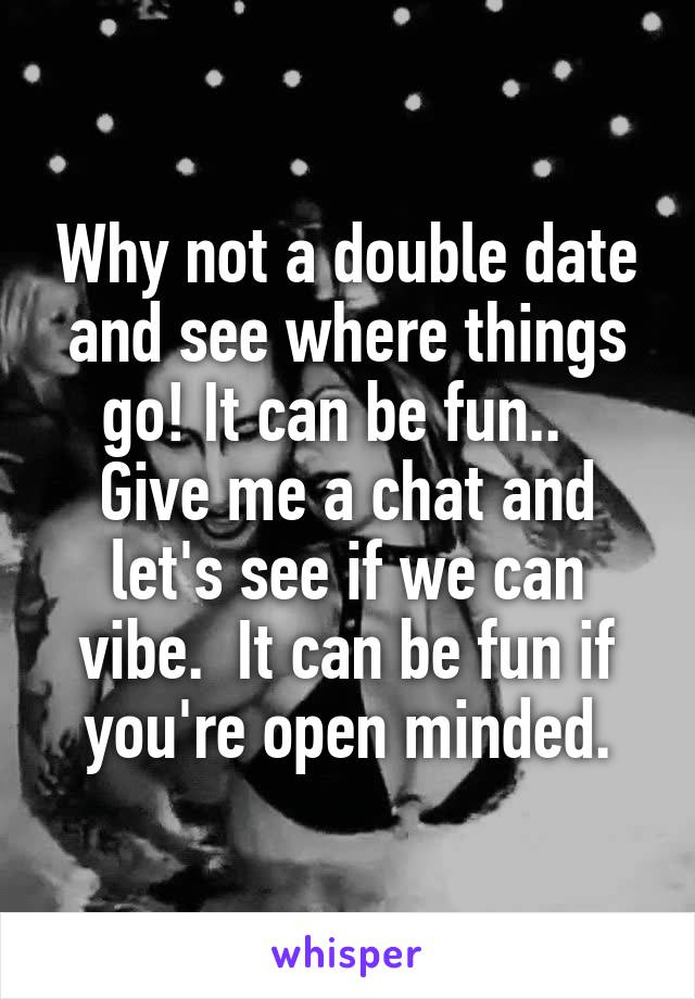 Dating lets see where it goes