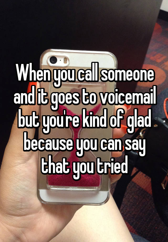 how to call someone so it goes straight to voicemail