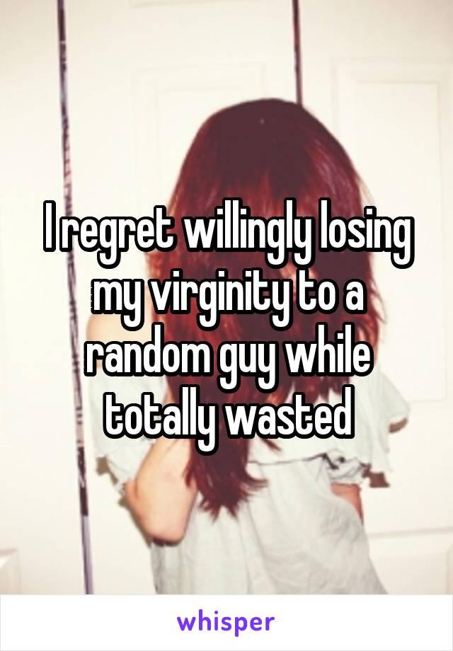 Losing virginity to random guy