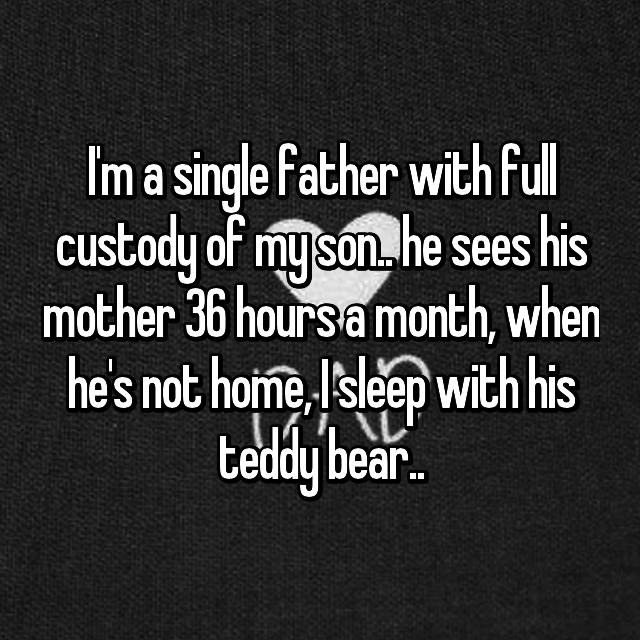 Single dad with full custody dating