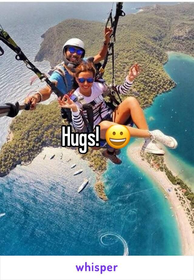 Hugs! 😀