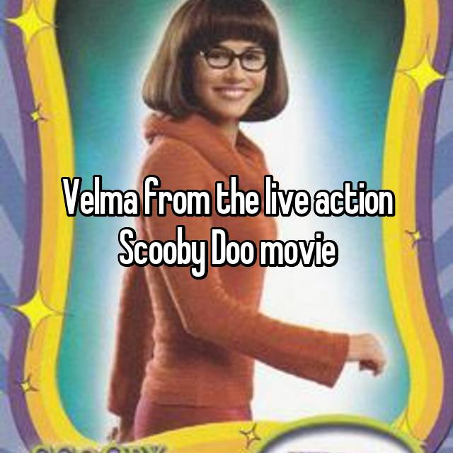 Velma from the live action Scooby Doo movie