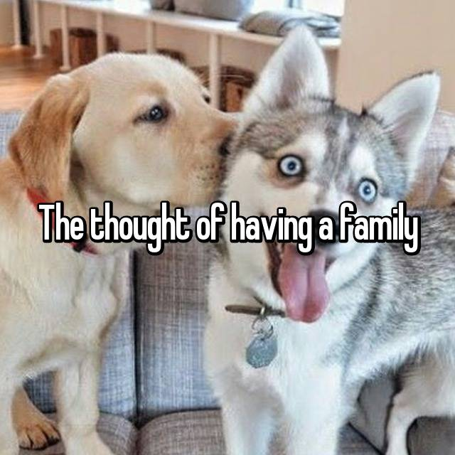 The thought of having a family