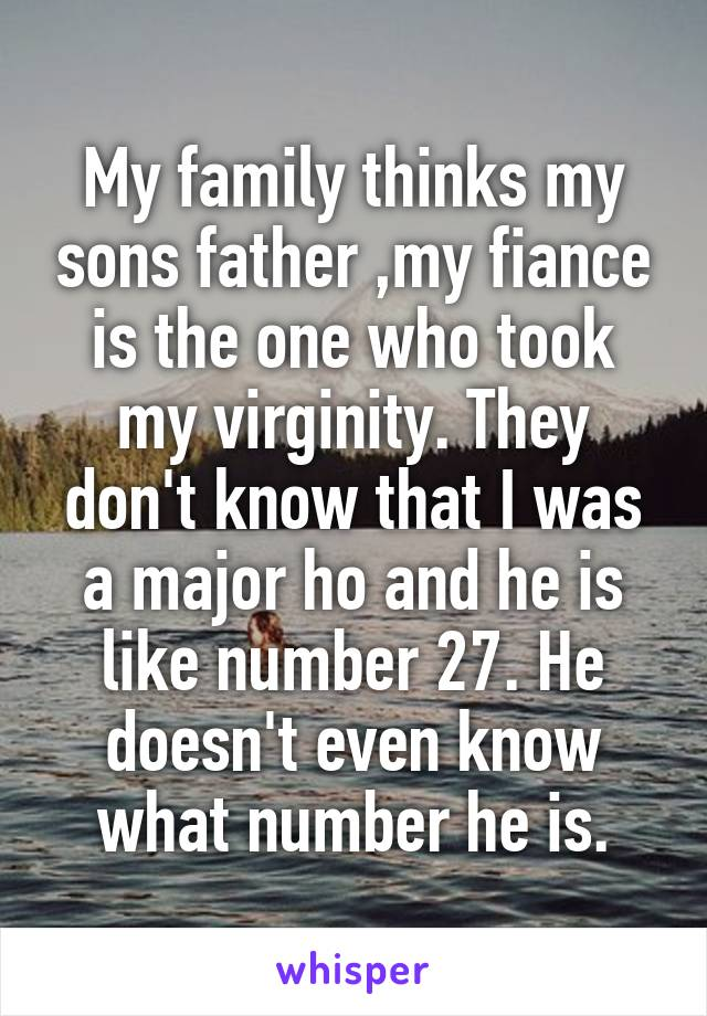 Father took my virginity