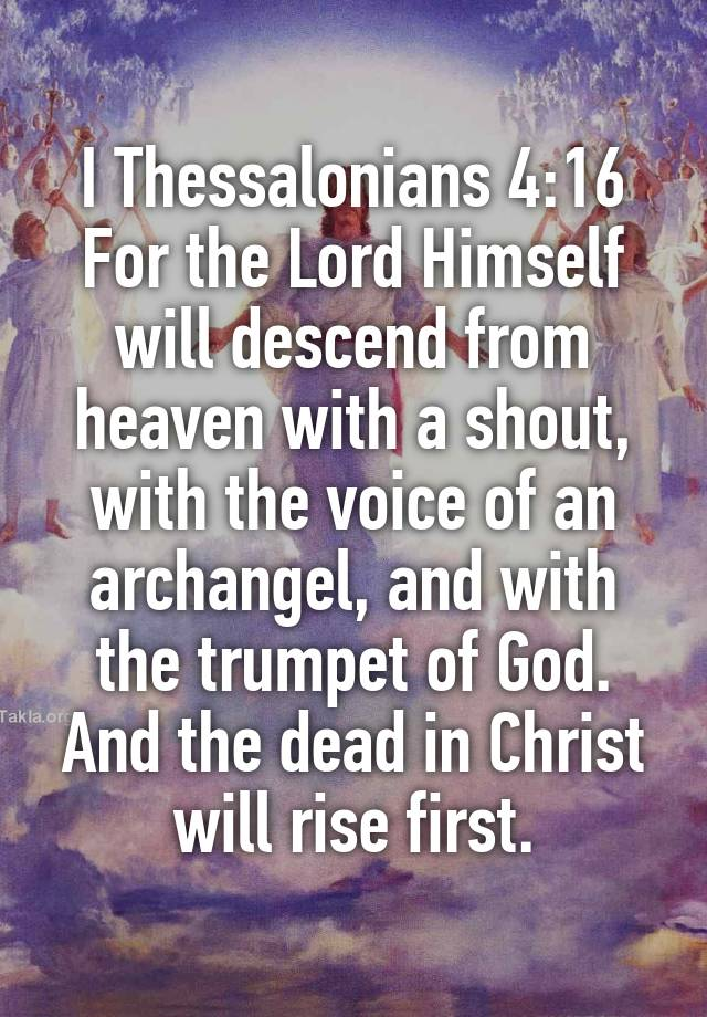 Image result for the voice of an archangel and with the trumpet of God, art, photos