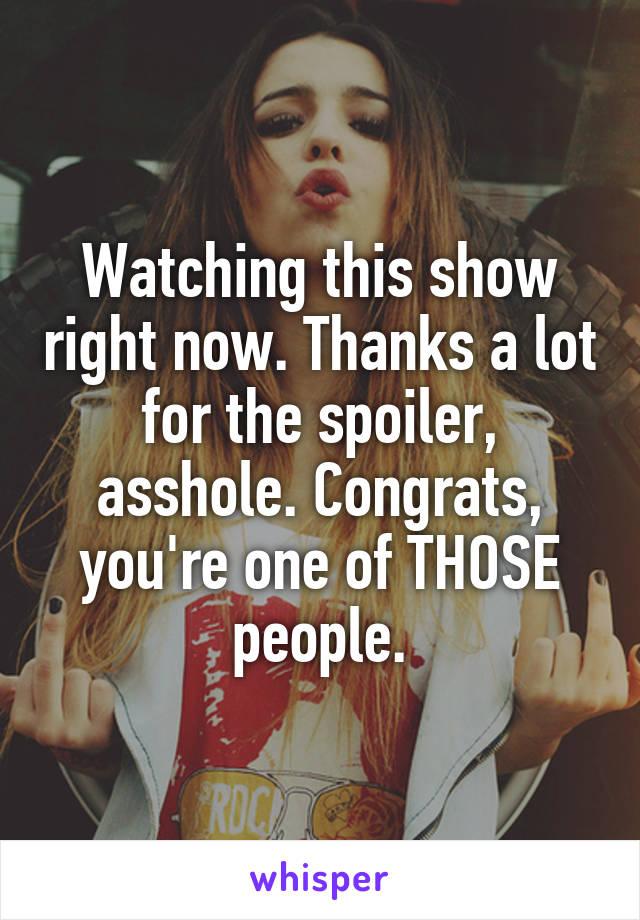Asshole show