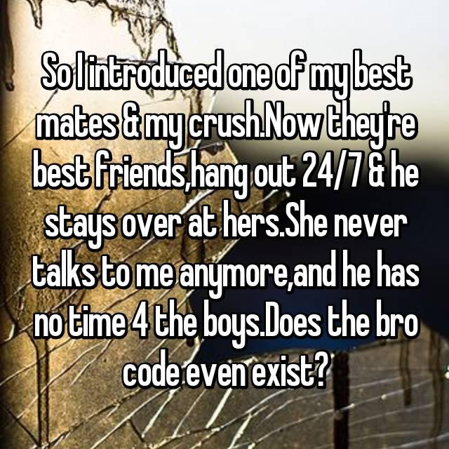 dating my best friends crush