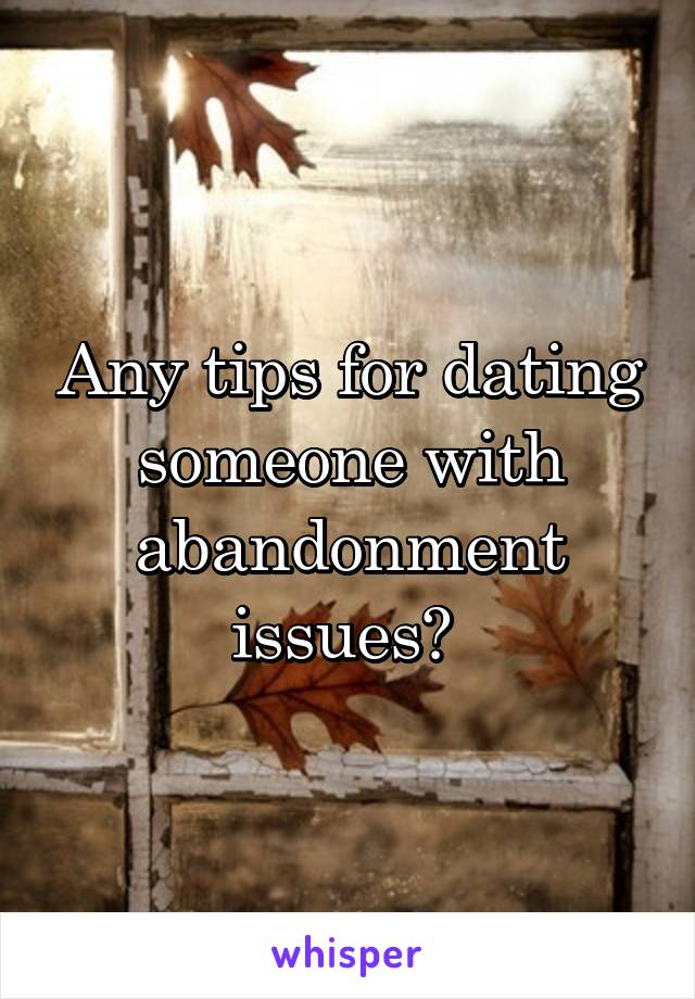 Application Has Dating Issues Abandonment Who Someone Windows