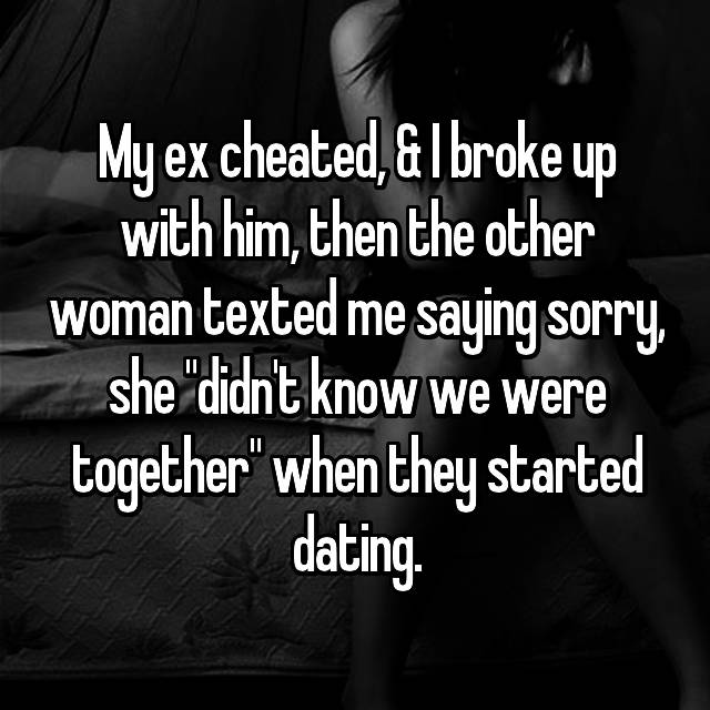 found out my wife cheated on me when we were dating