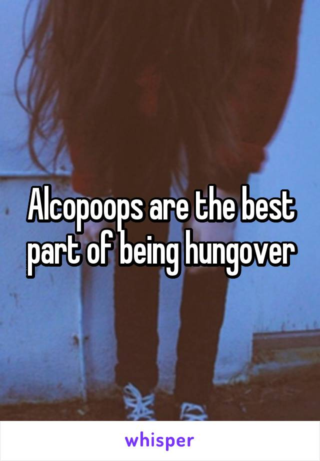Alcopoops are the best part of being hungover